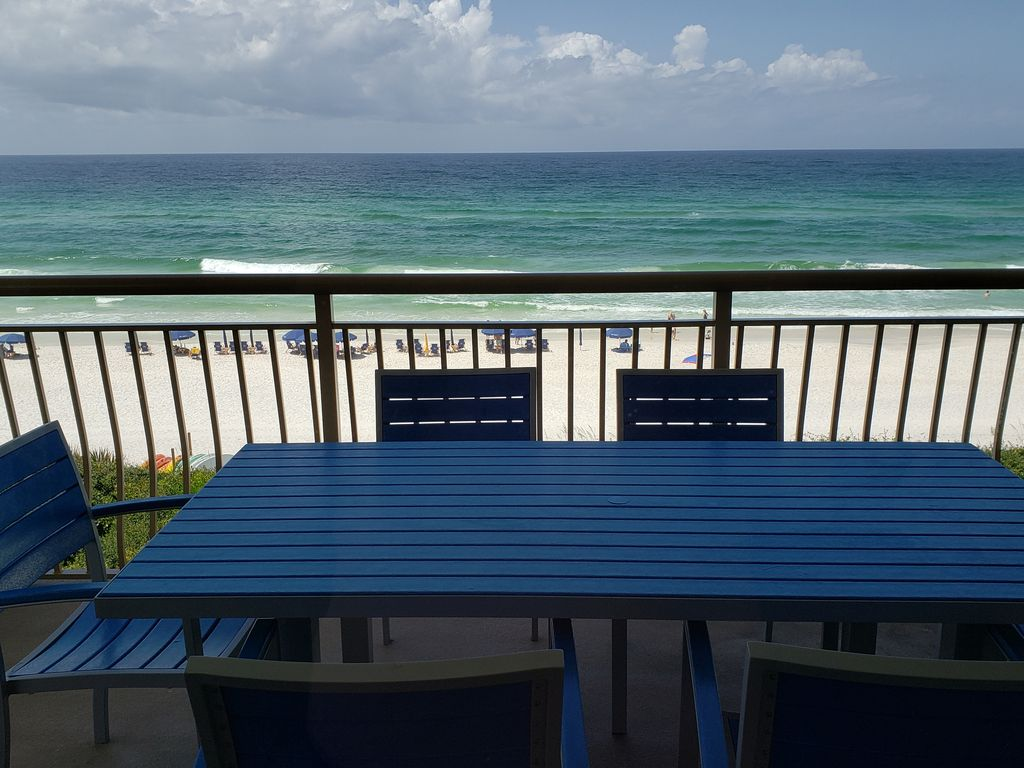 The view from Best High Pointe Condo at Seacrest Beach, Florida